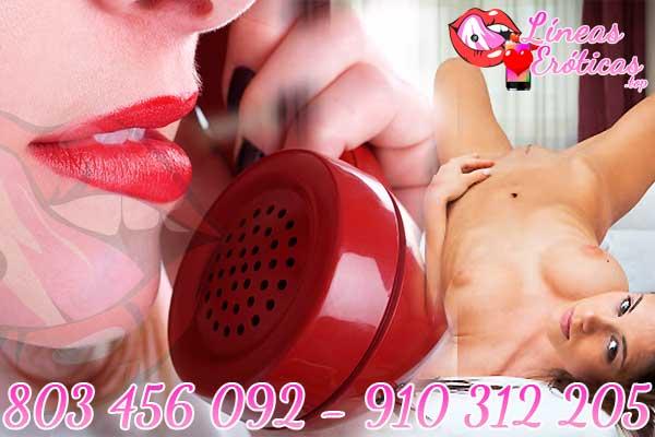 Nos encanta el sexo telefónico